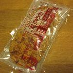 銚子電鉄 - ぬれ煎餅 赤の濃い口味 5枚入(2016/02/16撮影)