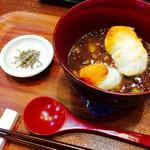 御素麺屋 大和田菓愁庵 - ぜんざぃ ¥500-