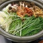 ばんや - キムチ鍋