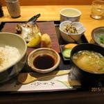 47663843 - さわらのかま焼き定食