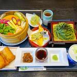 喜久水庵 - 料理写真:採れたて野菜のせいろ蒸し御膳