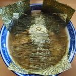 好和亭  - 快老麺(とろろ昆布・肉入り)700円  快老麺はカイロウメンと読みます