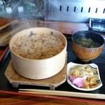居酒屋 すみよし - ふわっとアサリの香りが漂う「深川めし (500円)」