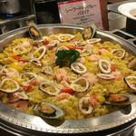 定山渓グランドホテル瑞苑 - 料理写真:海鮮パエリア