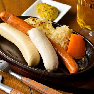 本場ドイツ料理をお楽しみください!
