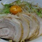 4767298 - 大豚ラーメン 汁なし(野菜、カラメ)