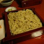 朴念仁 - 天せいろの蕎麦