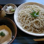 そば処 遊蕎 - 「ゆばとろ蕎麦(二八)」