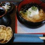 そば処 遊蕎 - 「おろし蕎麦(レモン入り)」全景