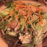 世界のごちそうPalermo - 鶏の粒マスタードサラダ