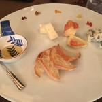 芦屋フレンチ北じま - チーズ