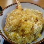 力餅食堂 - 天丼 玉子とじあっぷ