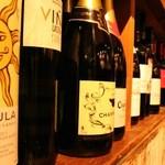 Wilco - ワインは40種類以上。コスポパフォーマンスの良い物をセレクト