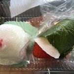 47675843 - いちご大福&いちご桜餅