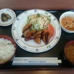 豊橋市民病院レストラン - 料理写真:日替りランチ   730円