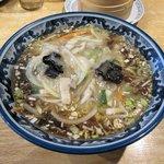 大衆中華 山水 - 料理写真:横浜ご当地サンマーメン2016.02.15