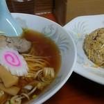 栄福 - 料理写真:ラーメンセット800円