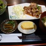 居酒屋 わのわ - 生姜焼き定食