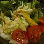 居酒屋 わのわ - 夜の部 低農薬野菜のサラダ