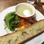 cafeZ - カブのスープと『aozora』のパン♪