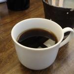 soba みのり - 平日限定サービスのコーヒー