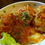 47686221 - 鶏からトマトソーズ煮