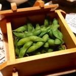 鍛冶屋 文蔵 - 枝豆