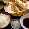 仲寿 - 料理写真:天婦羅定食  これ+3皿付いて750円