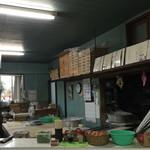 三嶋製麺所 - 製麺所らしく雰囲気あるお店です。