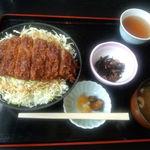 もく - ソースかつ丼:1080円