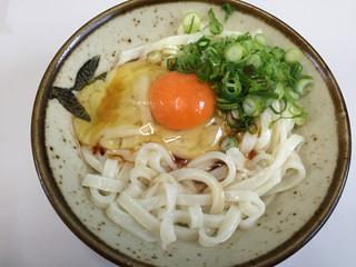 三嶋製麺所 - うどん2玉  240円  卵 30円