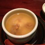 47689228 - このわたが茶碗蒸しの具って初めてでした。ちょっとクセを感じましたが食べ進むうちに良いアクセントに変わるのが不思議
