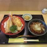 鎌倉からり - 特製天丼ミニかけセット