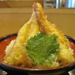 鎌倉からり - 特製天丼アップ