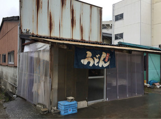 讃岐製麺所 - 暖簾が無いと、うどん店とは…(^_^;)