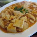 餃子工房 你好 - 淡白なお味のマーボ豆腐。