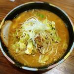 豆でっぽう - 味噌らーめん700円