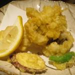 市場食堂 さかなや - 鱧の天ぷら
