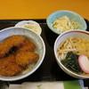 くいどころ里味 - 料理写真:かつ丼うどんセット