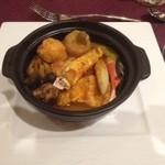 エグゼクス・スウィーツ - この日はタジン鍋のお料理が出ました