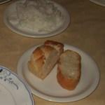 ルッコラ - パンとライスです。