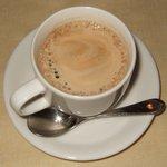 ルッコラ - 曳き立ての、深いコーヒーです。
