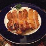 旬海料理ぎんりん - 地鶏ももピリ辛焼