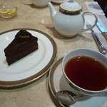 銀座トリコロール - 紅茶ケーキセット