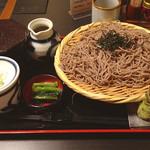 そじ坊 ダイバーシティ東京プラザ店 - シンプルなざるそば定食