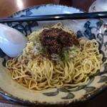 麪家 ひばり - 汁なし担担麺 880円