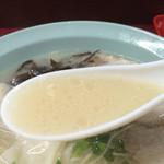 三九ラーメン - 豚骨スープ