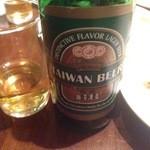 台南担仔麺 屋台料理 来来 - 台湾ビール
