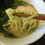 きんきち - 白湯ラーメンアップ