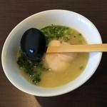 きんきち - 白湯ラーメン